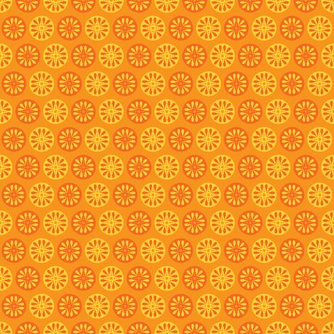 Solar Dot (Dark) fabric by robyriker on Spoonflower - custom fabric
