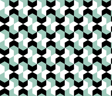 01226910 : chevron 6 paired fabric by sef on Spoonflower - custom fabric