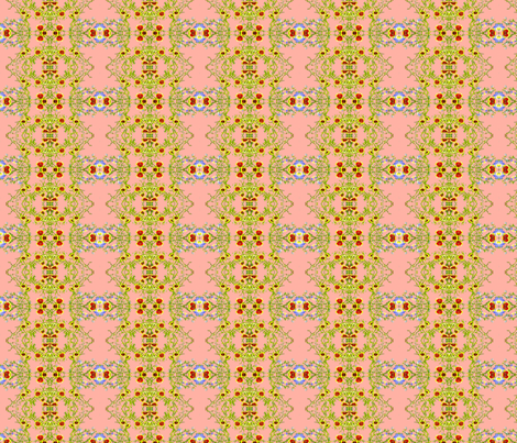 My Daughter's Flowers 2 fabric by robin_rice on Spoonflower - custom fabric