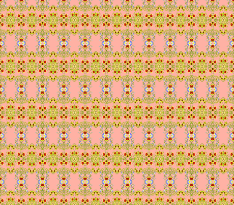 My Daughter's Flowers 3 fabric by robin_rice on Spoonflower - custom fabric