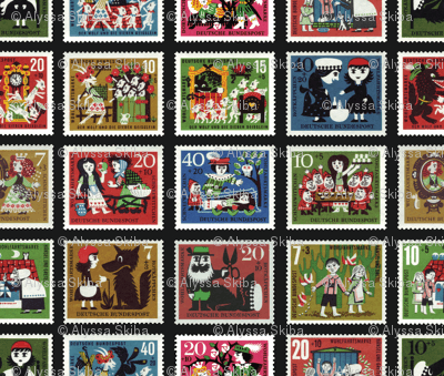 fairy tale stamps