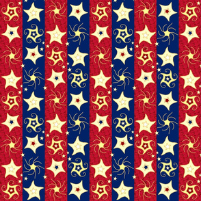 Embroidered_Swirling_and_Twirling_Stars_on_Stripes_B_red_fill