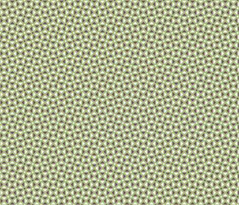 Flower of Life - Mosaic (comp2) fabric by andrea11 on Spoonflower - custom fabric