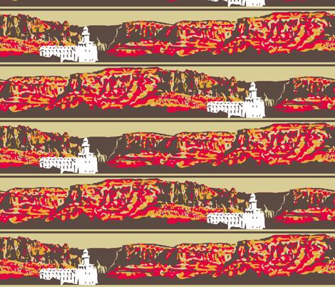 St. George Stripe fabric by evenspor on Spoonflower - custom fabric