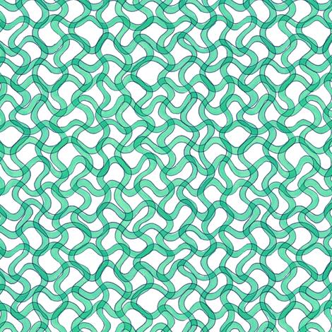 blue-green spirulina fabric by weavingmajor on Spoonflower - custom fabric