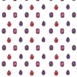 Rubies & Amethysts...smaller print