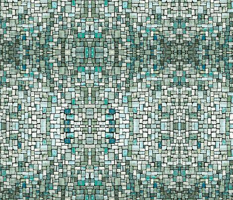 Sea Mosaic fabric by flyingfish on Spoonflower - custom fabric