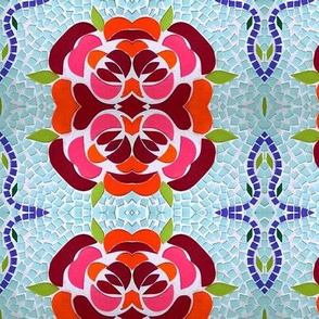 Rosy Mosaic