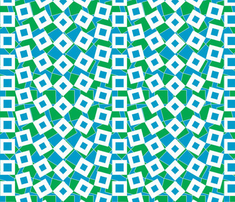 squared_away-earthday fabric by glimmericks on Spoonflower - custom fabric
