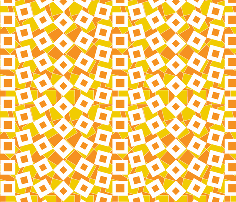 squared away solar fabric by glimmericks on Spoonflower - custom fabric