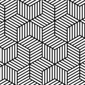 stripy chevron cubes?
