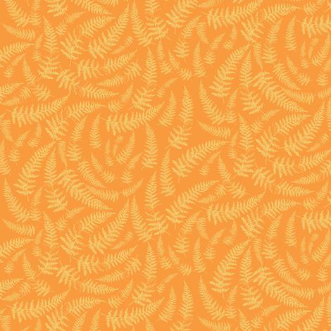 bracken_golden fabric by owls on Spoonflower - custom fabric
