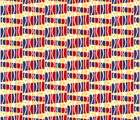 striped_mod_maritime fabric by glimmericks on Spoonflower - custom fabric