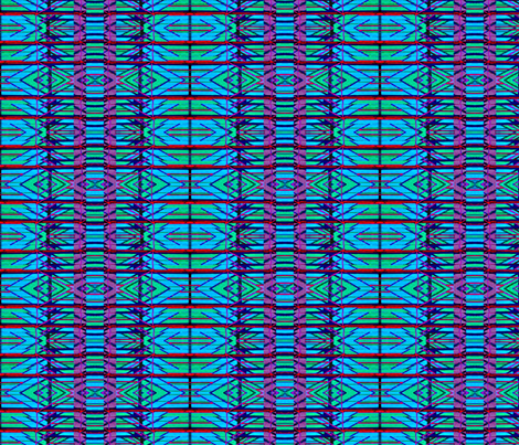 Bright Woven Stripes fabric by robin_rice on Spoonflower - custom fabric