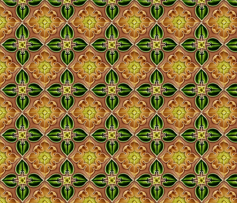 Water Lilies fabric by flyingfish on Spoonflower - custom fabric