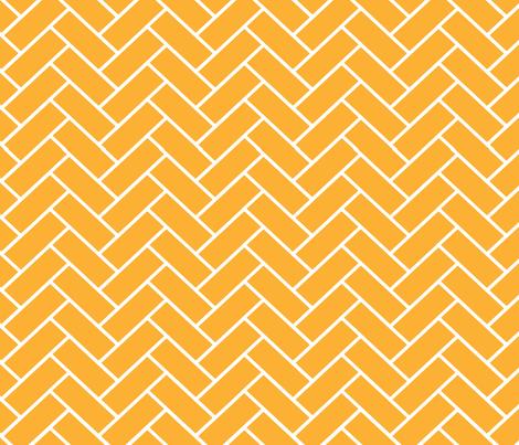 Gold_Herringbone fabric by designedtoat on Spoonflower - custom fabric