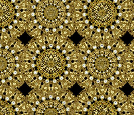King's Coronation fabric by joanmclemore on Spoonflower - custom fabric