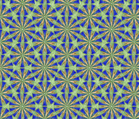 Nonagons Enmeshed  color2 fabric by fireflower on Spoonflower - custom fabric