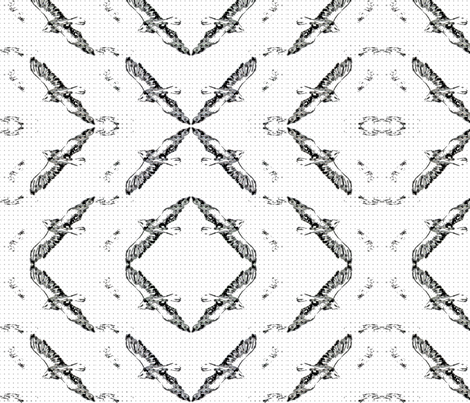 Soaring fabric by sweetlittletinkers_ on Spoonflower - custom fabric