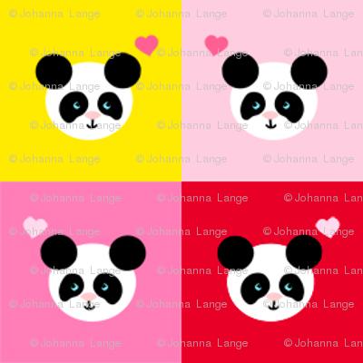 Panda Love Bright Mix Small