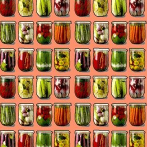Pickled Vegetables pimiento