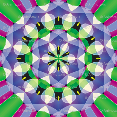 Crystal Kaleidoscope 3, L