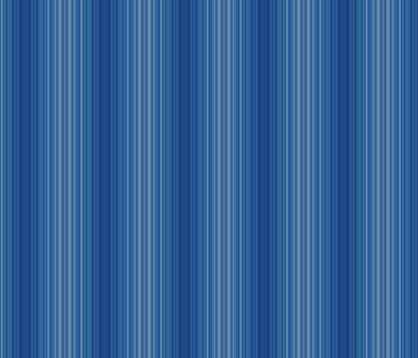 Blue Sculpted Stripes © Gingezel™ 2012 fabric by gingezel on Spoonflower - custom fabric