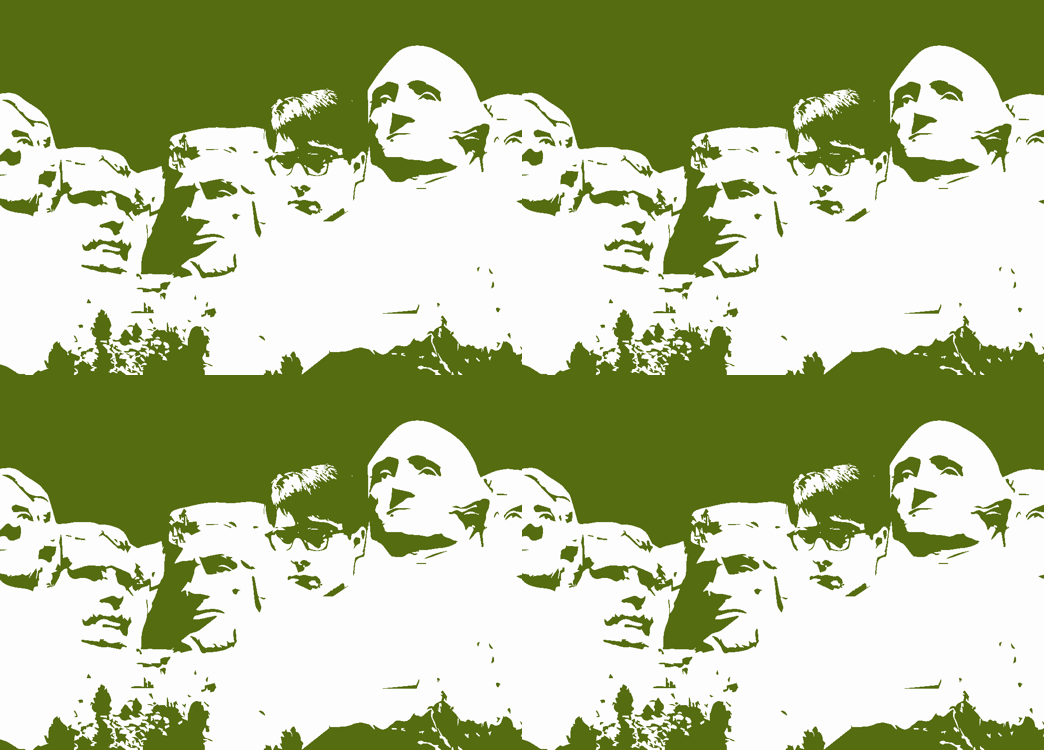 "Mt. ""Rushmore"" as inspired by the Wes Anderson film fabric by alysnpunderland on Spoonflower - custom fabric"