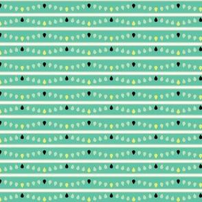 Blue Green Stripes