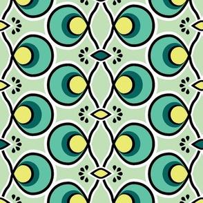 Blue Green Lattice