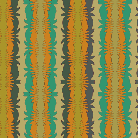 Oachiche (Green) fabric by david_kent_collections on Spoonflower - custom fabric