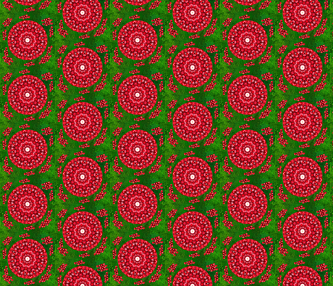 pomegranate salad fabric by elarnia on Spoonflower - custom fabric