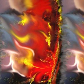 Volcanic Explosion