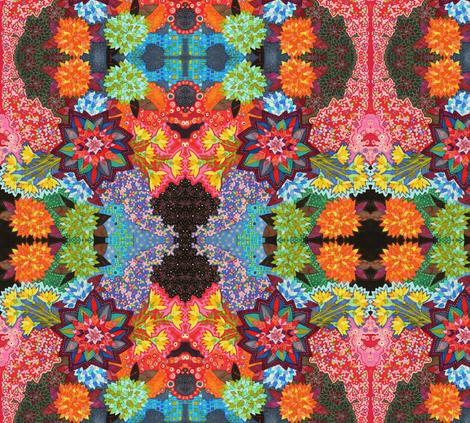 Margarita no pudo venir fabric by lita_blanc on Spoonflower - custom fabric
