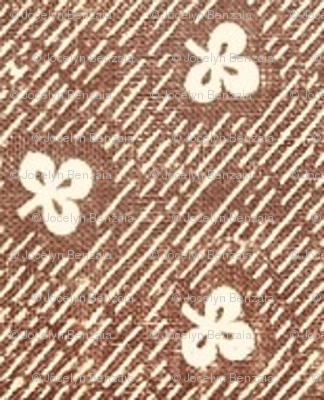 Brown Clover  - large