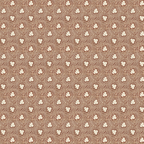 Brown Clover  - large fabric by the_cornish_crone on Spoonflower - custom fabric