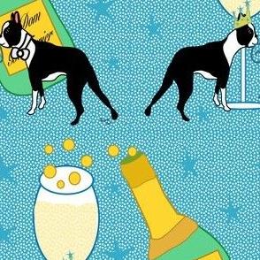 Happy New Year Boston Terriers
