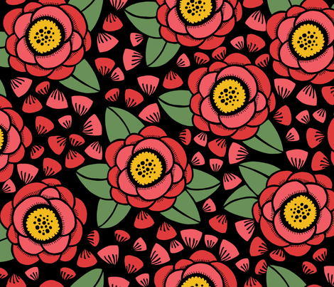 flowers_petals fabric by danab78 on Spoonflower - custom fabric