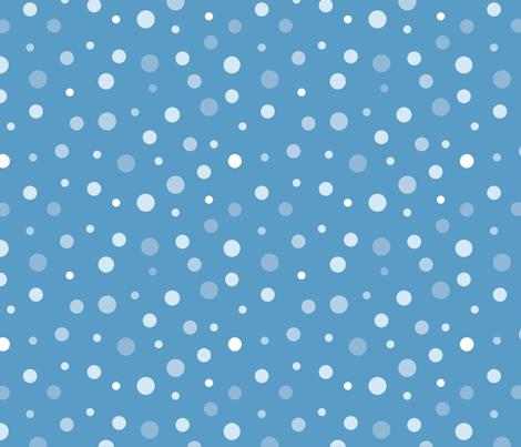 random-polkadot-blue fabric by danab78 on Spoonflower - custom fabric