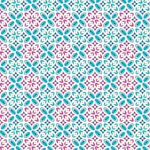 Geometric shapes pink