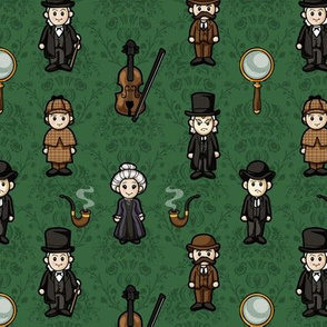 Cutesy Holmes (Green)