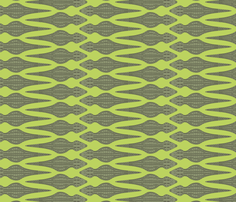 Snappy Gator fabric by loopy_canadian on Spoonflower - custom fabric