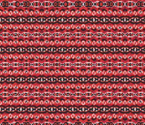 Montana Stripe - Cherry fabric by chelsdens on Spoonflower - custom fabric
