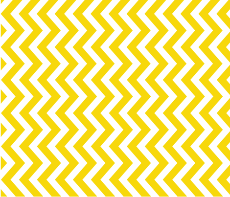 tillytom chevon - yellow fabric by tillytom on Spoonflower - custom fabric