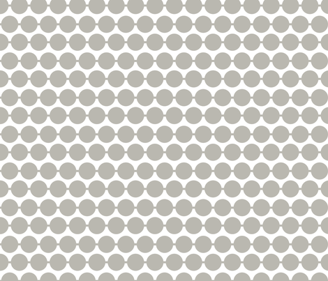 Dot_Grey fabric by walrus_studio on Spoonflower - custom fabric