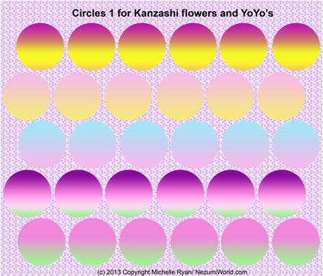 Circles No.1 fabric by nezumiworld on Spoonflower - custom fabric