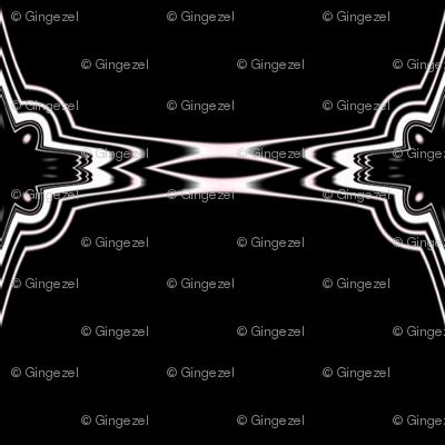 Dark Charcoal Fancy Diamond Stripe © Gingezel™ 2012