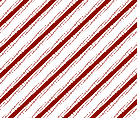 Candy Cane Red fabric by purplish on Spoonflower - custom fabric