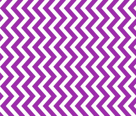 tillytom chevron - purple fabric by tillytom on Spoonflower - custom fabric