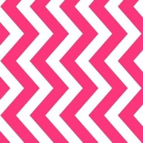 tillytom chevron - deep pink